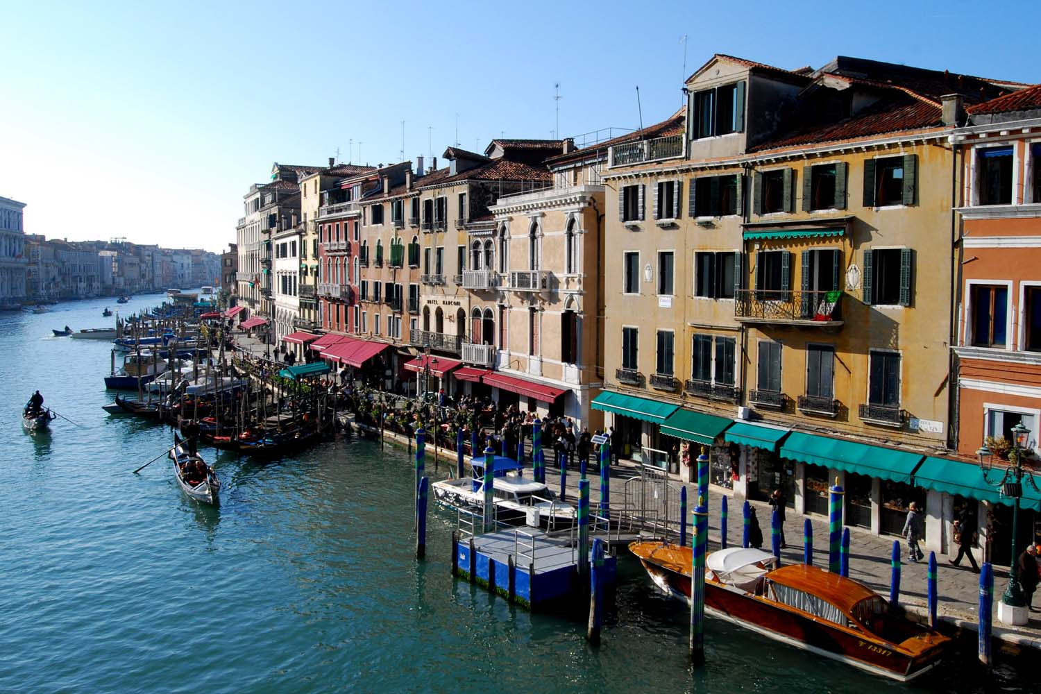 FIVS Top to Toe of Italy grand canal