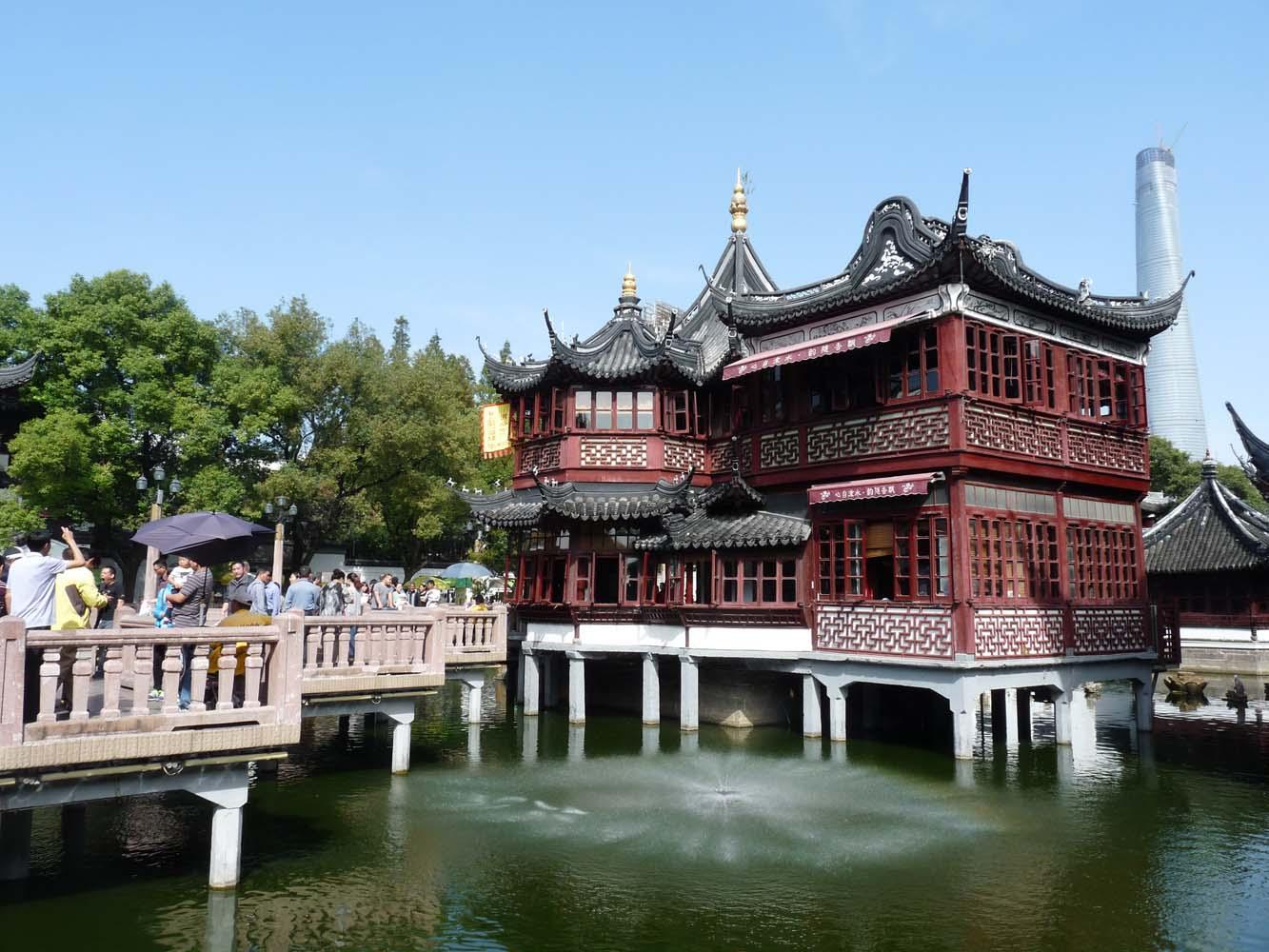 LCNS Huxinting Teahouse Shanghai Old Town