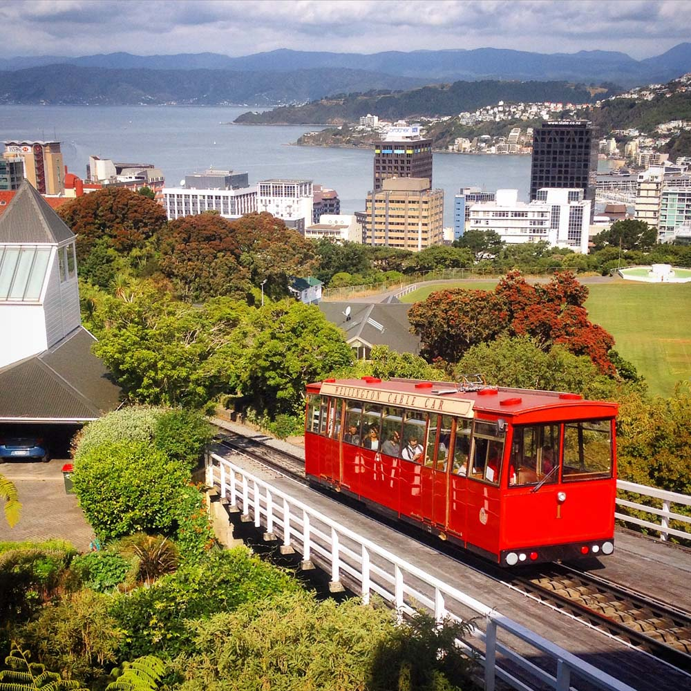 LNZ Discover New Zealand Cablecarin Welling ton