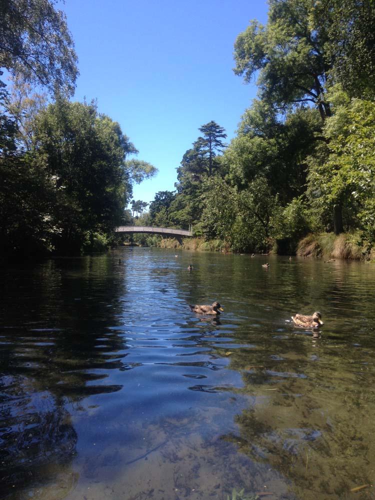 LNZ Discover New Zealand Christchurch River Avon
