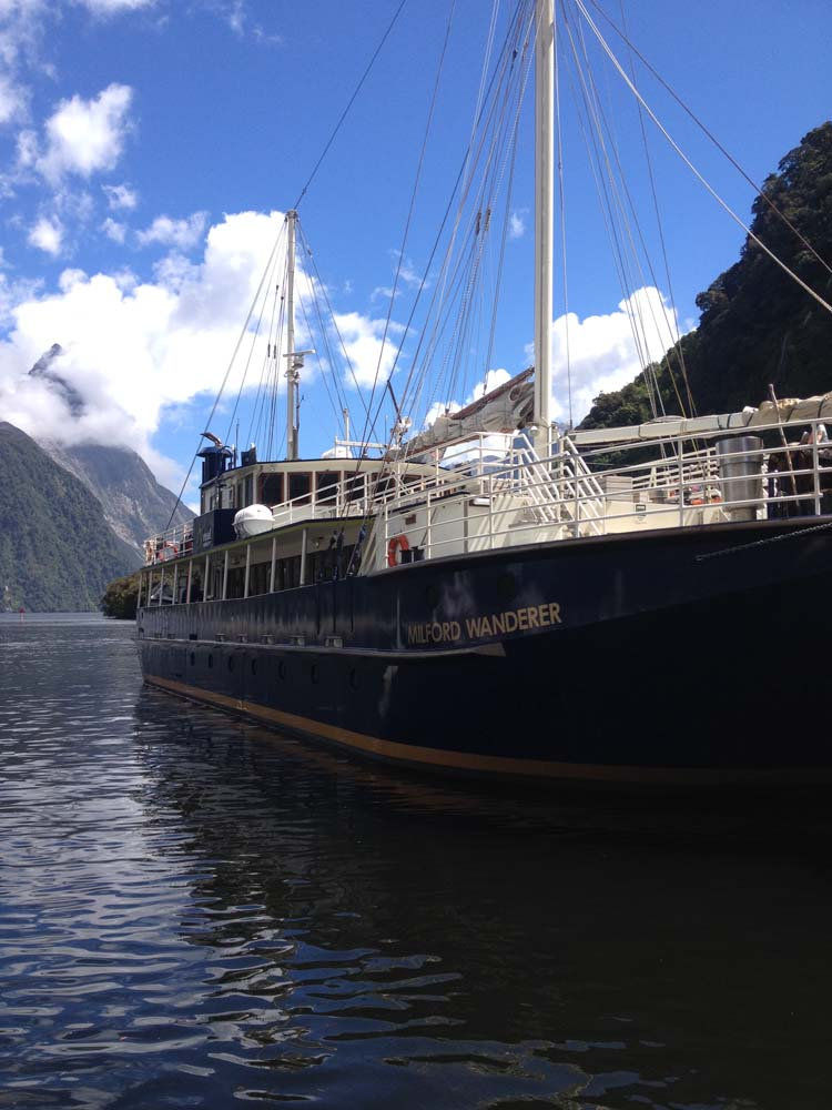 LNZ Discover New Zealand Cruiseon Milford Sound