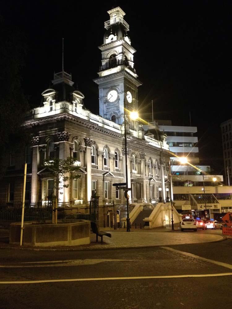 LNZ Discover New Zealand Dunedin Central
