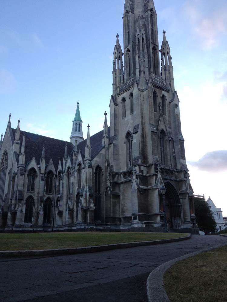 LNZ Discover New Zealand Dunedin church