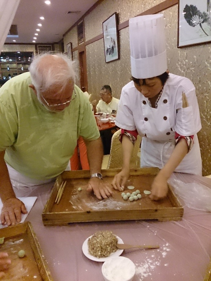 SLCHI 10 Making dumplings
